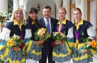 Янукович наградил призеров Олимпиады
