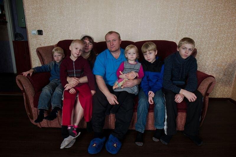 Юрій з сім'єю