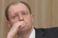 Яценюк признал ошибочность финансирования своей кампании