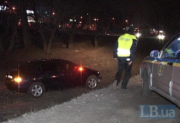 В Киеве Honda насмерть сбила мужчину