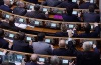 Рада одобрила заявление о выводе иностранных войск с территории Украины