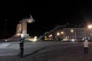 Кернес обязался восстановить памятник Ленину