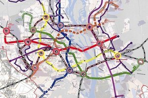 """Метро - это основная перспектива развития транспортной...  Развитие сетей метрополитена до 2025 года."