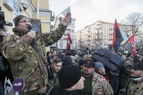 Коханівського затримано під час спроби прорватися на Майдан