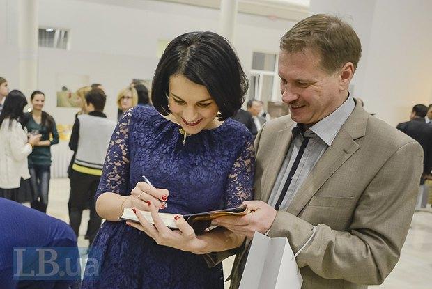 Тарас Чорновол и Соня Кошкина