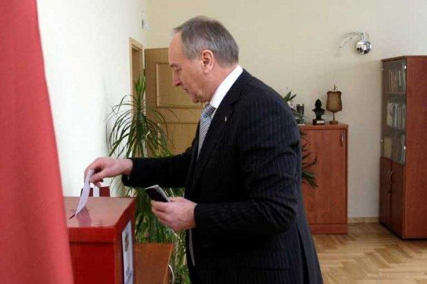 президент Латвии Андрис Берзиньш