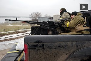 Силы АТО обстреляли снайперов-террористов под Мариуполем