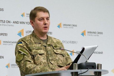 Взоне АТО засутки погибших ираненых украинских военных нет