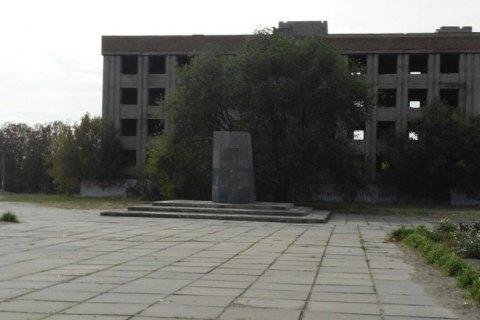 В Запорожской области похитили пятитонный бронзовый памятник Ленину