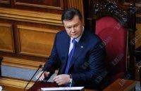 Янукович убедил депутатов не лечить Тимошенко за границей