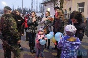 Бойцы морской пехоты прибыли в Николаев на ротацию