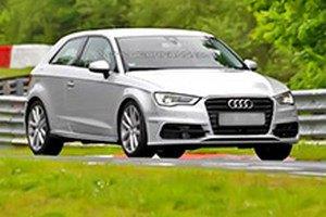 В Інтернеті з'явилися фото нового Audi S3