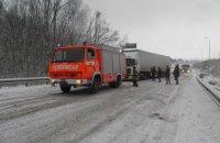 В Одесской и Николаевской областях ограничили движение транспорта из-за непогоды