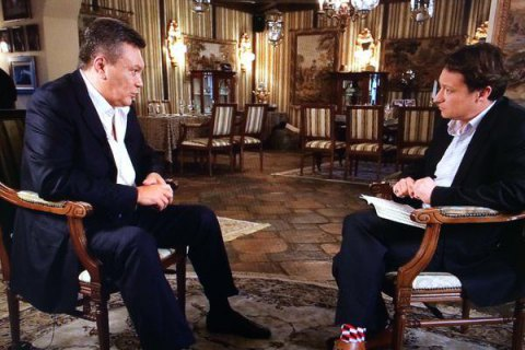 """Янукович открестился от """"Межигорья"""" и зоопарка со страусами"""