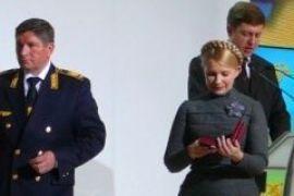 Тимошенко пообіцяла залізничникам голову Стельмаха