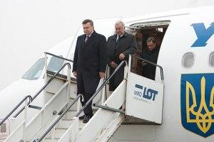 МИД: количество заграничных поездок Януковича выросло на 35%