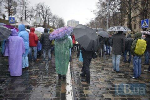 Концерт начесть Дня Гідності наМайдані зірвали активісти