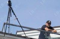 За съездом оппозиции вновь следили на крышах с видеокамерами