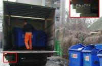 Предвыборная гречка из мусоровоза. Фото. Видео