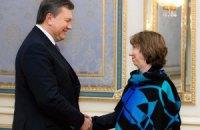 Янукович заявил Эштон, что его будущее зависит от ассоциации с ЕС