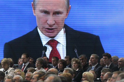 Рейтинг Путина достиг 82%