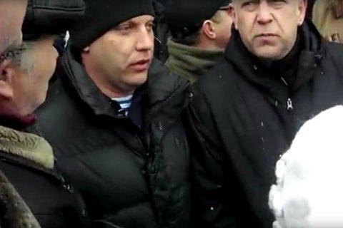"""Захарченко засняли в рядах противников """"русской весны"""""""