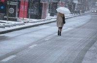 В субботу в Киеве обещают небольшой дождь с мокрым снегом