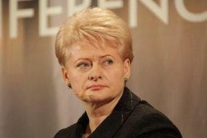 Грібаускайте: Україні загрожує ізоляція