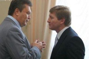 """Янукович оценил """"незаурядные качества"""" Ахметова"""