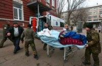 В Гранитном ранены два бойца