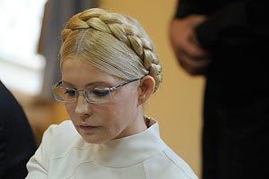 Тюремщики утверждают, что Тимошенко стало плохо после принятия душа