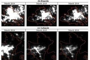 Угасающий регион: что об экономике так называемых ДНР/ЛНР говорят фото со спутников