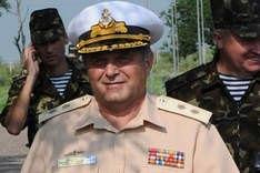 Янукович уволил командующего флотом Украины