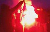 Лубкивский требует жесткой реакции на сожжение украинского флага