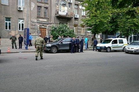 В Харькове в ходе столкновения ранен патрульный полицейский