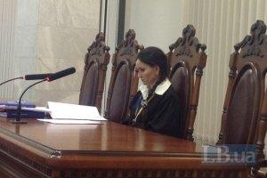 Судья Царевич продолжила заседание