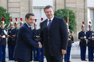 Янукович надеется на Саркози