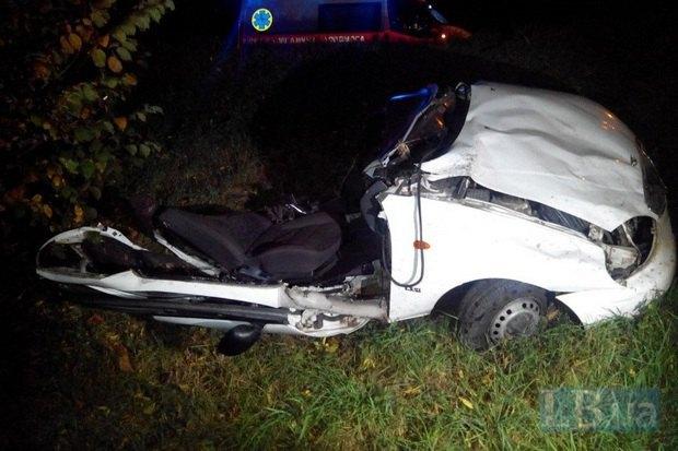 Ужасная авария вКиеве: авто разлетелось накуски