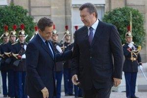 Саркози отверг предложение Януковича о встрече