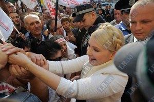 Тимошенко покинула суд