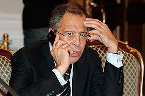 Лавров убеждал Керри, что власти Украины должны начать переговоры с террористами