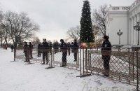 """Милиция охраняет Одесскую мэрию от """"Свободы"""""""