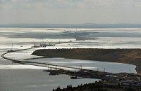 Путин побывал на стройке моста через Керченский пролив