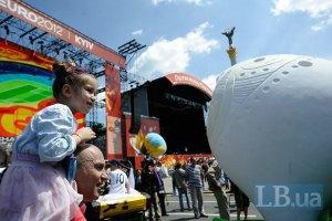 Київську фан-зону відвідали 100 тисяч уболівальників