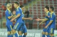 Украина обыграла Македонию в матче отбора Евро-2016