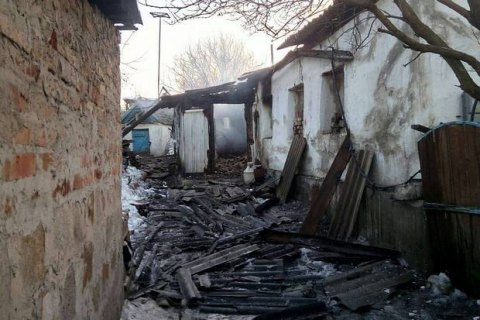 Восемь домов в Авдеевке пострадали от ночного обстрела