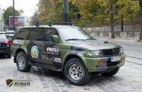 """Волонтеры на """"Военном такси"""" собрали во Львове на автомобиль для АТО"""