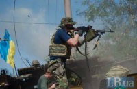 Боевики десять раз обстреляли позиции украинских военных за ночь