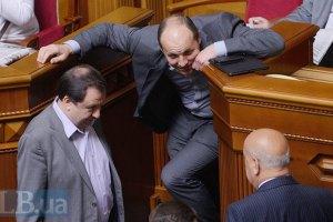 Парубий: мы сознательно остановили голосование по Кабмину, чтобы поговорить с лидерами Майдана