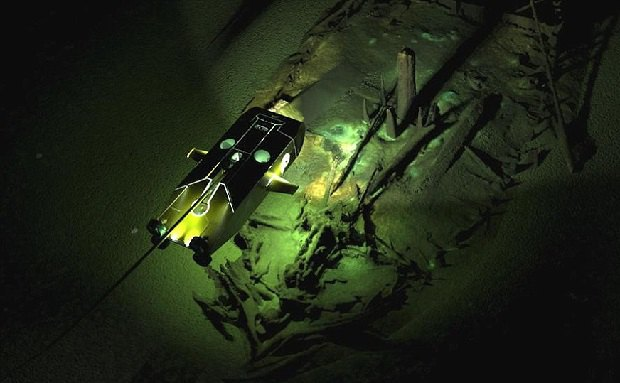 ВЧерном море отыскали кладбище кораблей Османской иВизантийской империй
